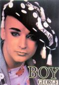 Culture Club - 'Boy George' Postcard
